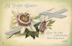 A JOYFUL EASTER  passion flowers