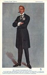 MR. AUSTEN CHAMBERLAIN, M.P.
