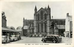 THE ABBEY AND MARKET PLACE
