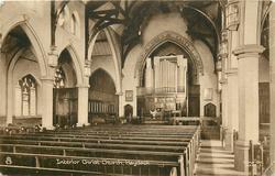 INTERIOR CHRIST CHURCH