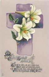 MAY EASTER SUNLIGHT GLADDEN YOU  Easter lilies