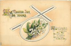 ALL EASTER JOY BE YOURS  lilies-of-the-valley