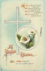 A JOYFUL EASTER  calla lilies