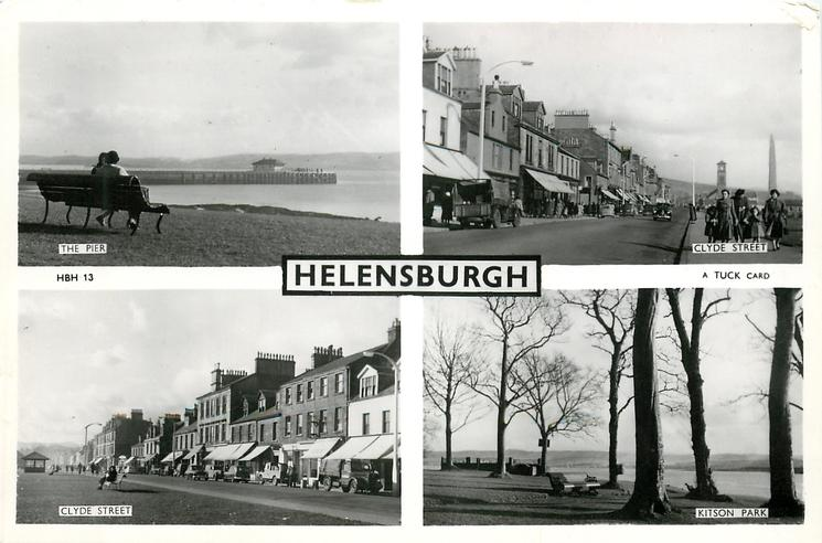 4 insets THE PIER/CLYDE STREET/CLYDE STREET/KITSON PARK