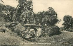THE OLD MOAT BRIDGE, THE CASTLE