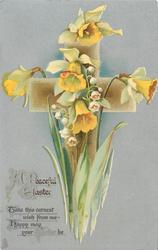 A PEACEFUL EASTER  daffodils