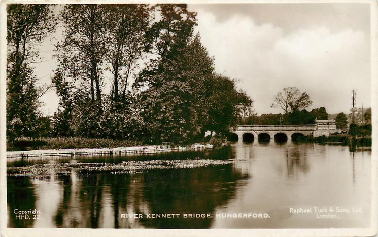RIVER KENNETT BRIDGE