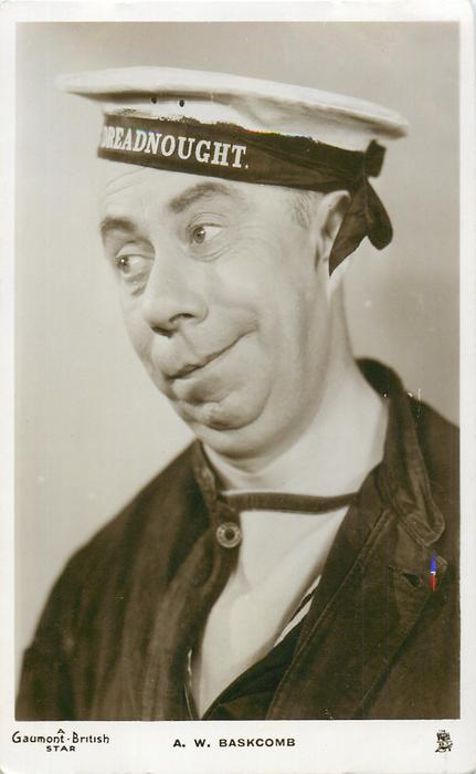 A. W. BASKCOMB  as sailor