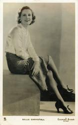 BELLE CHRYSTALL  seated pose