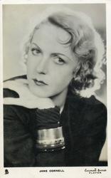 JANE CORNELL  wearing huge armlet