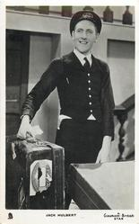 JACK HULBERT  as porter carrying case