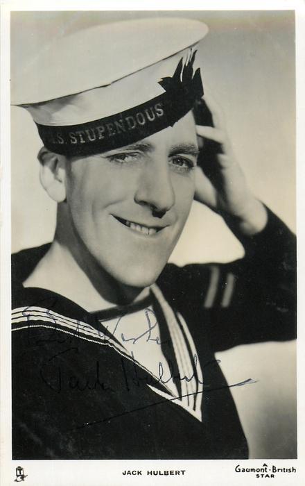 JACK HULBERT  as sailor