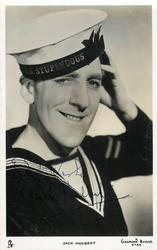 JACK HULBERT  as sailor