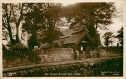 THE CHURCH & LYCH GATE