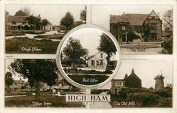 5 insets  HIGH HAM/THE COURT/POST OFFICE/VILLAGE GREEN/THE OLD MILL