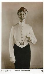 CICELY COURTNEIDGE  in uniform
