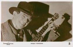 PERCY PARSONS  man with guitar
