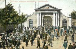 SOUTHSEA, ENTRANCE TO DOCKYARD, UNICORN GATE