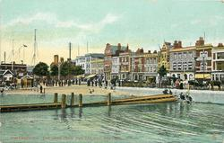 PORTSMOUTH, THE HARD FROM THE RAILWAY, PORTSEA