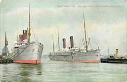 WALMER CASTLE AND KINFAUNS CASTLE  liners