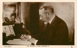 H.M. THE KING or HIS MAJESTY THE KING or HIS MAJESTY KING GEORGE V.