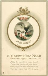 A HAPPY NEW YEAR, GOOD WISHES