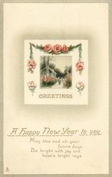 GREETINGS, A HAPPY NEW YEAR TO YOU