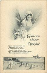 TO WISH YOU A HAPPY NEW YEAR  girl & harvest