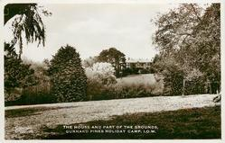 THE HOUSE AND PART OF THE GROUNDS. GURNARD PINES HOLIDAY CAMP, I.O.W.