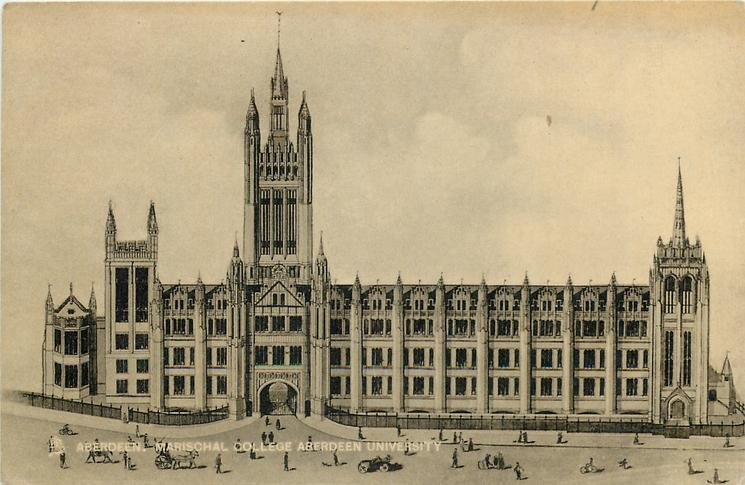 MARISCHAL COLLEGE ABERDEEN UNIVERSITY