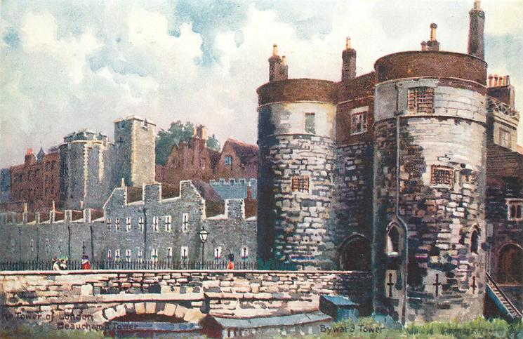 BEAUCHAMP TOWER, BYWARD TOWER