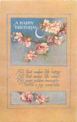 A HAPPY BIRTHDAY  blossom