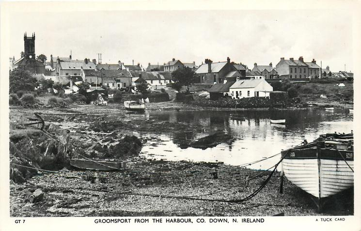 GROOMSPORT FROM THE HARBOUR