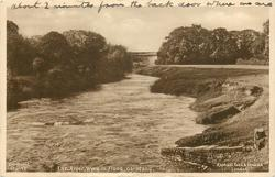 THE RIVER WYRE IN FLOOD