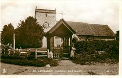 ST. LEONARD'S CHURCH, GRATELEY