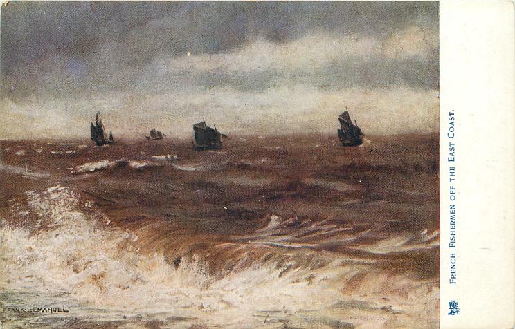FRENCH FISHERMEN OFF THE EAST COAST