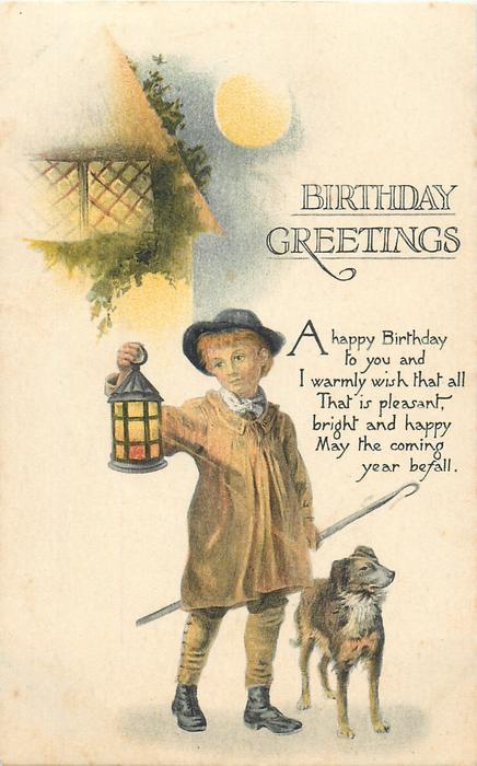 BIRTHDAY GREETINGS or THE BIRTHDAY GREETINGS