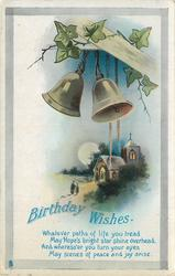 BIRTHDAY WISHES  bells above church