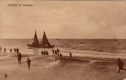 LIFEBOAT AT HOYLAKE