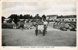 THE ENTRANCE, WARNER'S SOUTHLEIGH HOLIDAY CAMP