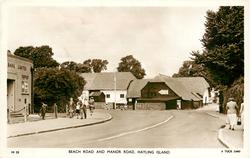 BEACH ROAD AND MANOR ROAD