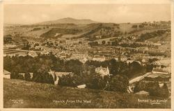 HAWICK FROM THE WEST