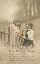 FOND BIRTHDAY WISHES