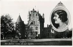 GLAMIS CASTLE, THE FORMER HOME OF OUR QUEEN
