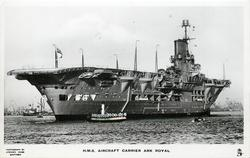 H.M.S. AIRCRAFT CARRIER ARK ROYAL