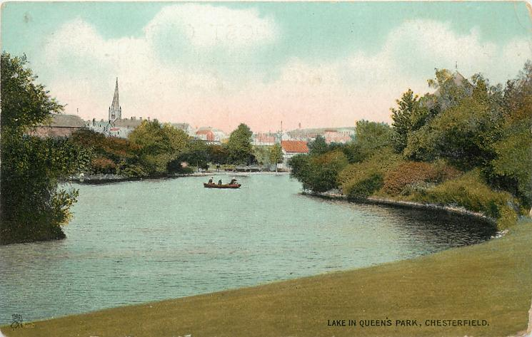 THE LAKE IN QUEEN'S PARK