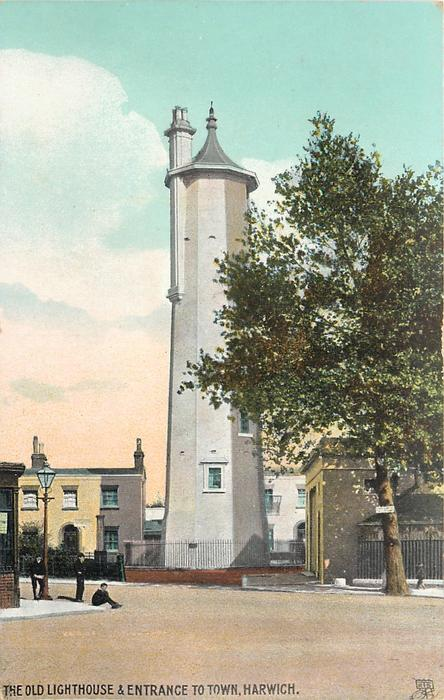 THE OLD LIGHTHOUSE & ENTRANCE TO TOWN