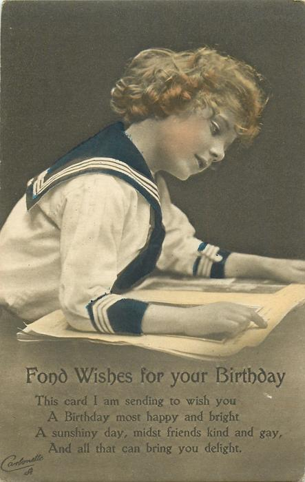 FOND WISHES FOR YOUR BIRTHDAY