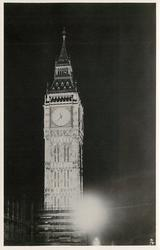 LONDON'S SILVER JUBILEE FLOODLIGHTING BIG BEN