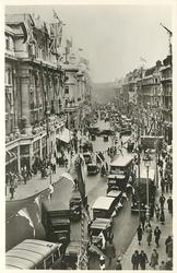 LONDON'S JUBILEE DECORATIONS,  REGENT STREET